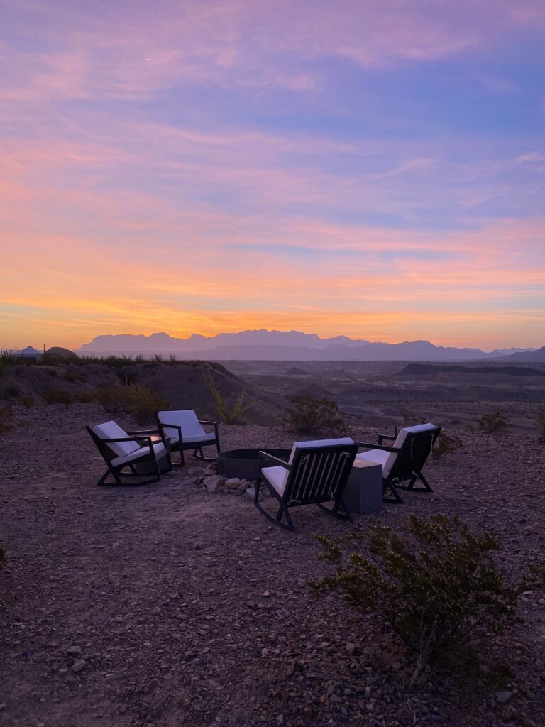 THE LOCAL CHAPTER, TERLINGUA, TEXAS