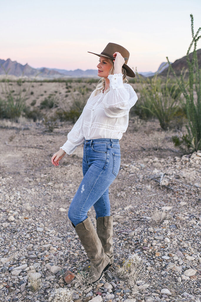 STETSON HAT + ISABEL MARANT BOOTS