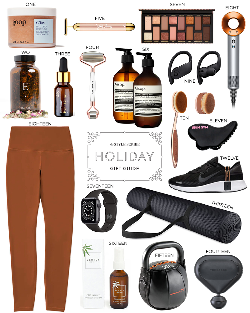 HOLIDAY GIFT GUIDE // PRESENT PICKS FOR THE BEAUTY, FITNESS OR WELLNESS GURU