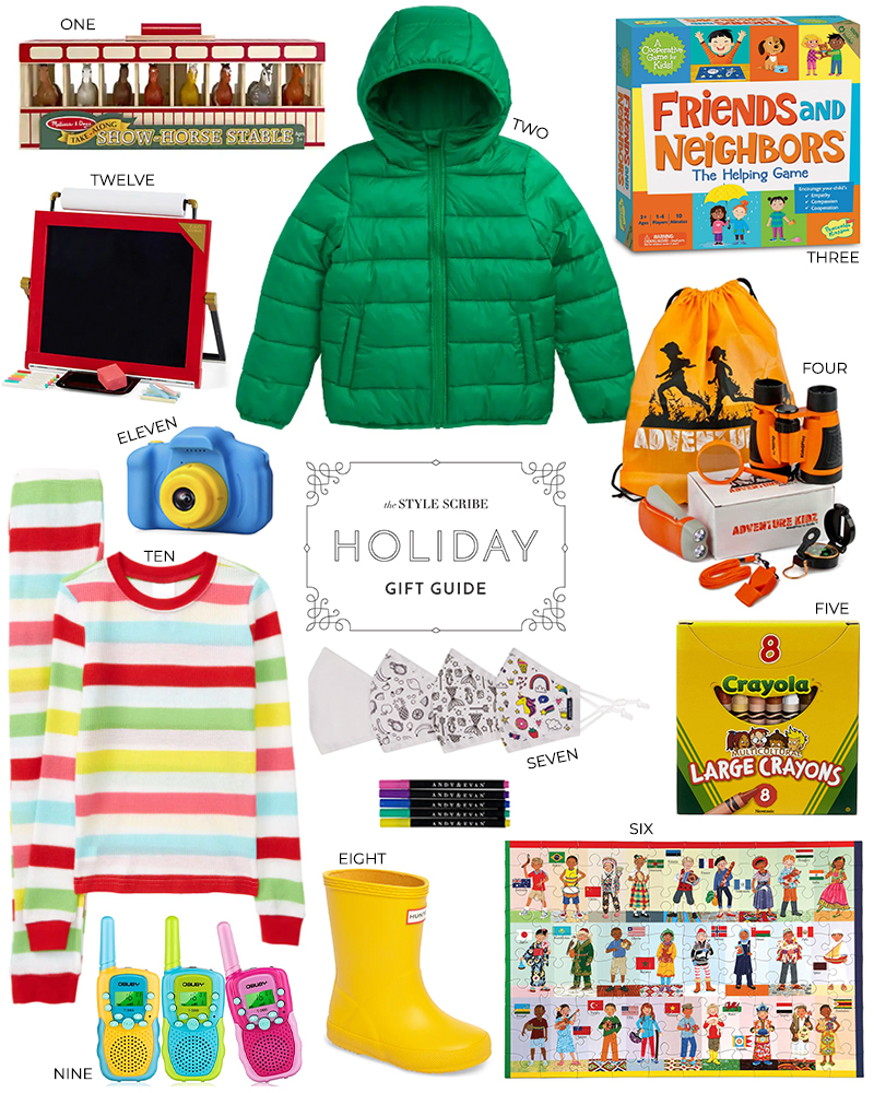 HOLIDAY GIFT GUIDE: PRESENT PICKS FOR KIDS