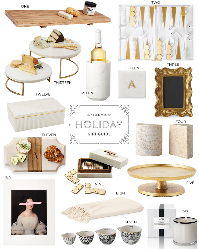 HOLIDAY GIFT GUIDE // PRESENT PICKS FOR THE HOME AND HOSTESS
