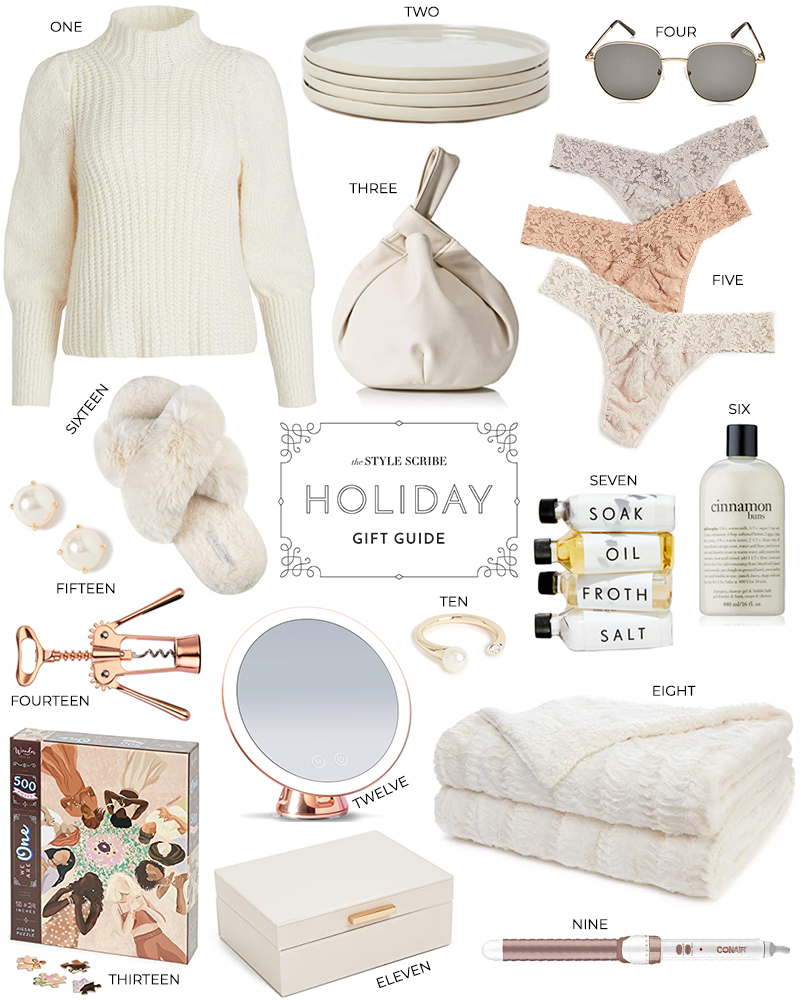 HOLIDAY GIFT GUIDE // LAST MINUTE PRESENT PICKS