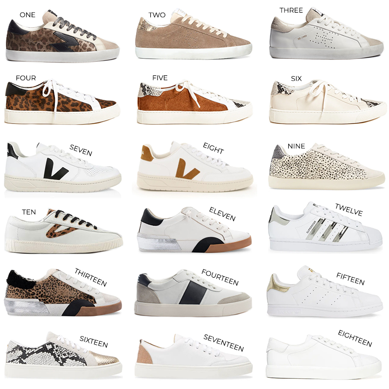 NEUTRAL SNEAKER ROUNDUP // THE STYLE SCRIBE