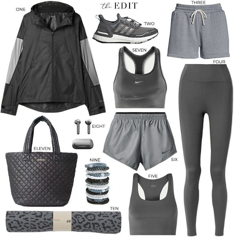 THE EDIT // GREY ACTIVEWEAR PICKS