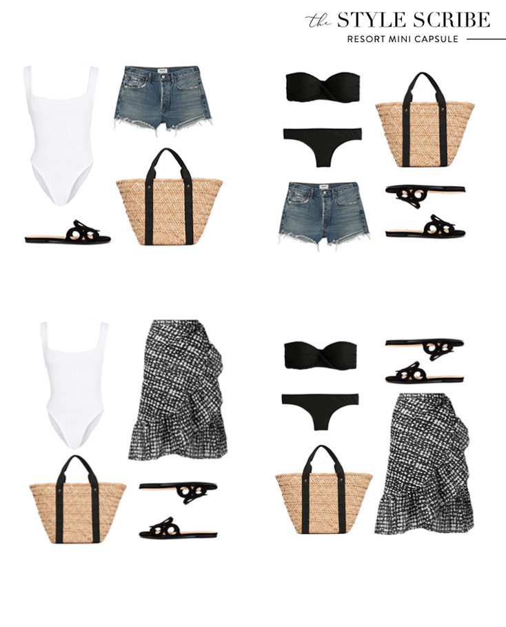 THE STYLE SCRIBE // RESORT MINI CAPSULE WARDROBE
