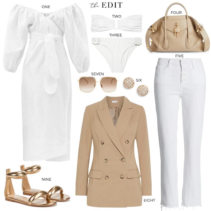 THE EDIT // MARA HOFFMAN FILA DRESS