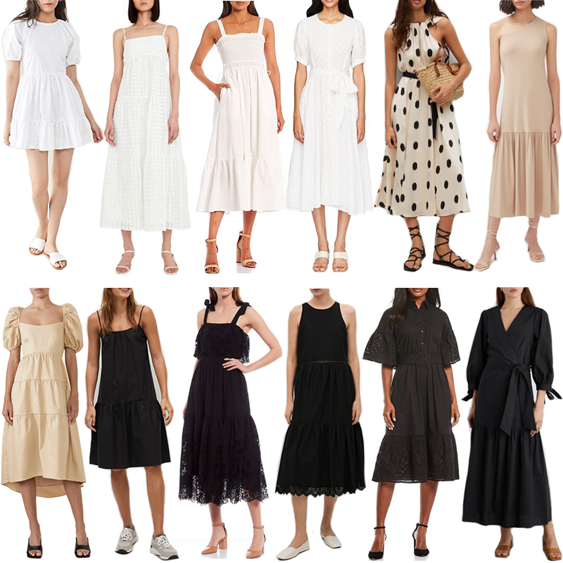 THE BEST SPRING/SUMMER NEUTRAL DRESSES
