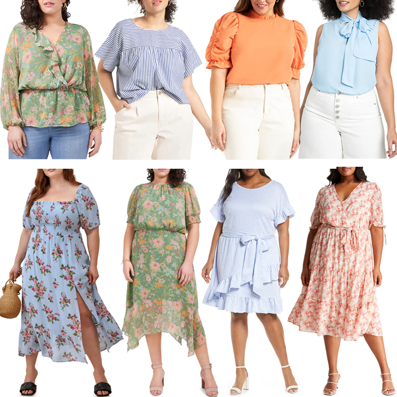 PLUS SIZE SPRING/SUMMER STYLE