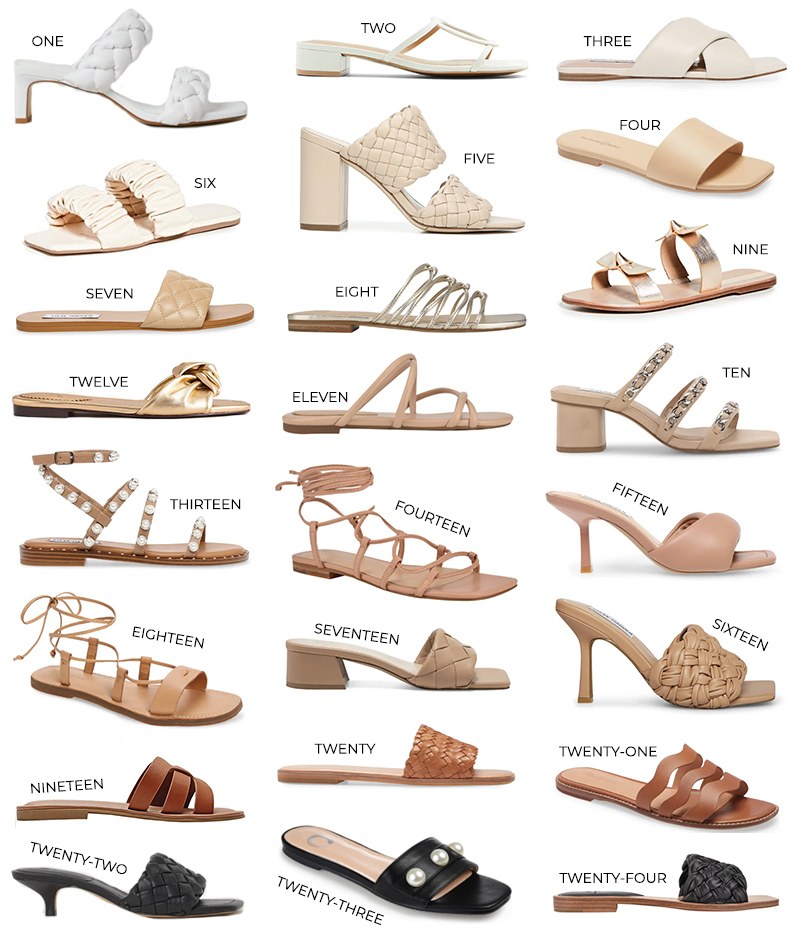 THE BEST SPRING/SUMMER SANDALS OF 2021