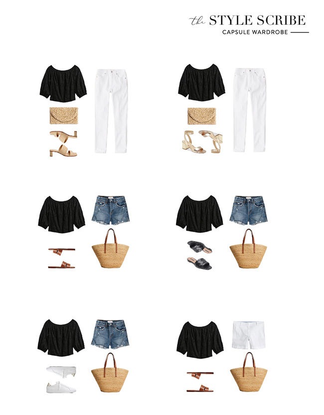 THE 2021 SUMMER CAPSULE WARDROBE BY MERRITT BECK // THE STYLE SCRIBE