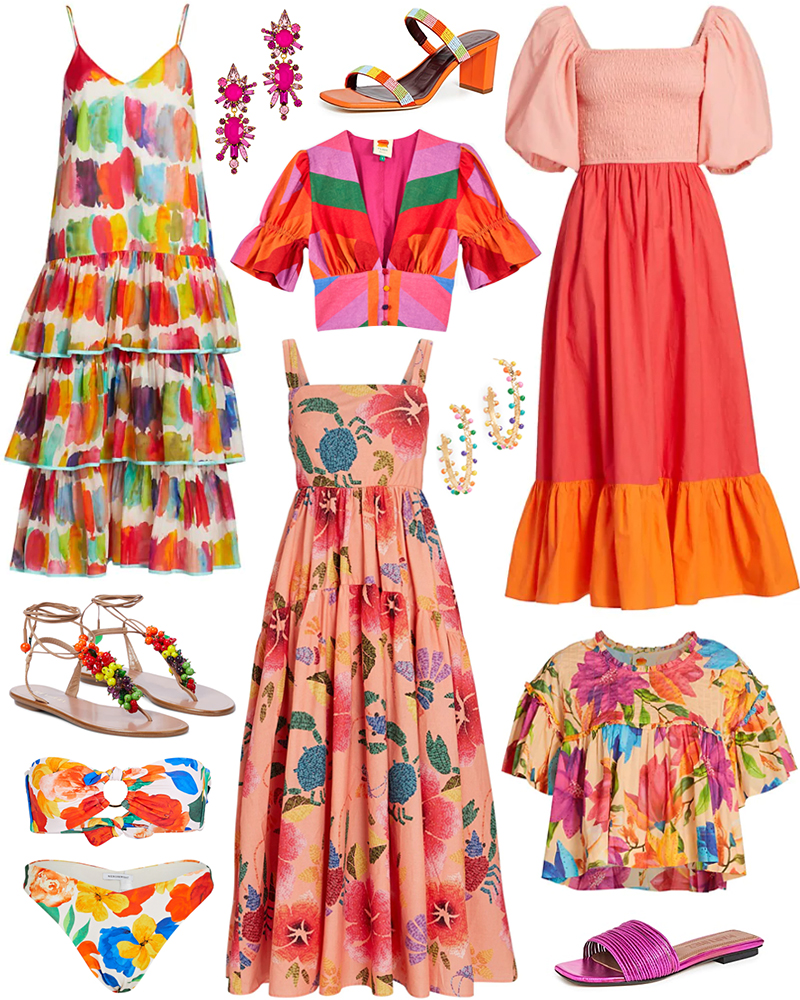 COLORFUL SUMMER STYLE PICKS