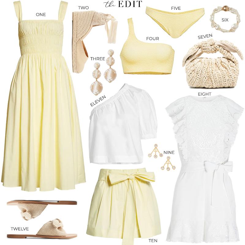 THE EDIT // STAUD IDA DRESS YELLOW