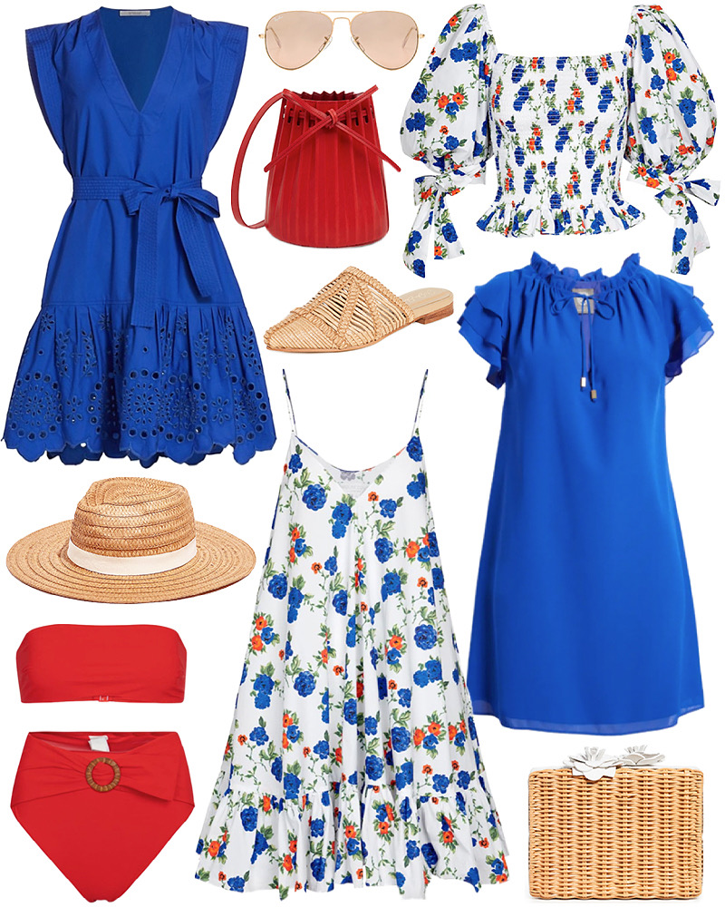 RED, WHITE AND BLUE FINDS FOR SUMMER