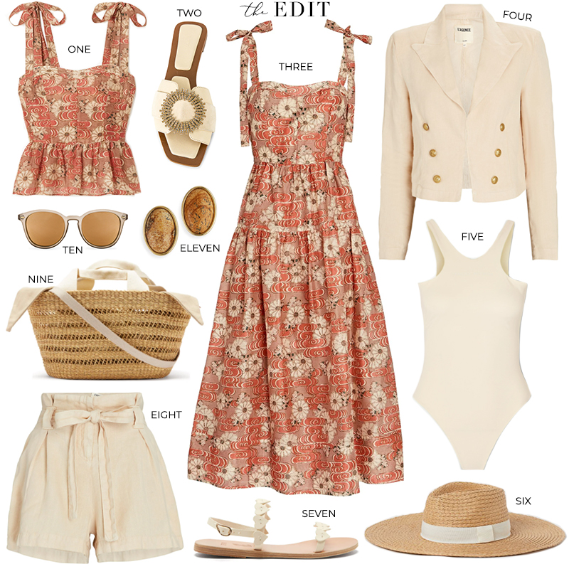THE EDIT BY THE STYLE SCRIBE // ULLA JOHNSON MINERVA DRESS