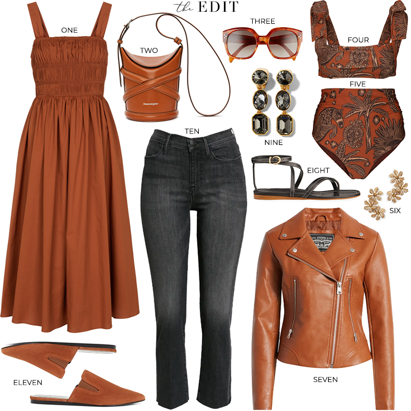 THE EDIT // STAUD IDA DRESS IN TAN
