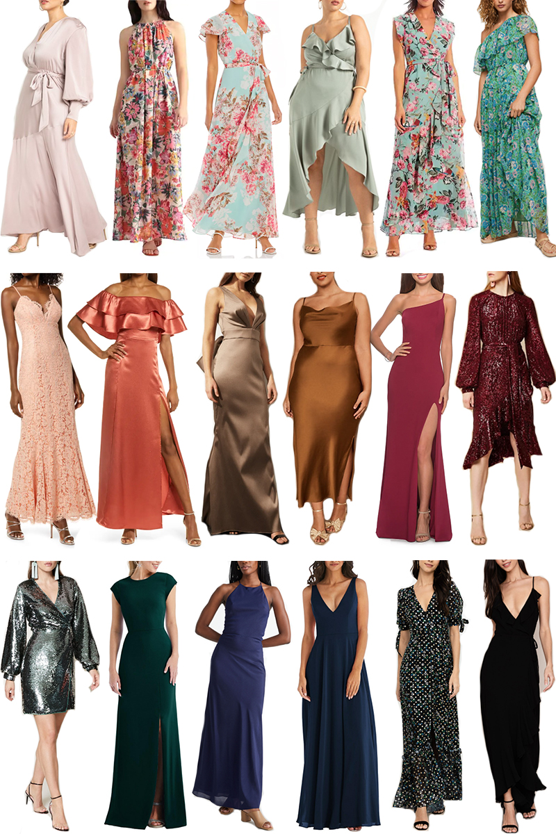 BLACK TIE + BLACK TIE OPTIONAL DRESSES UNDER $200 FOR LATE SUMMER/EARLY FALL