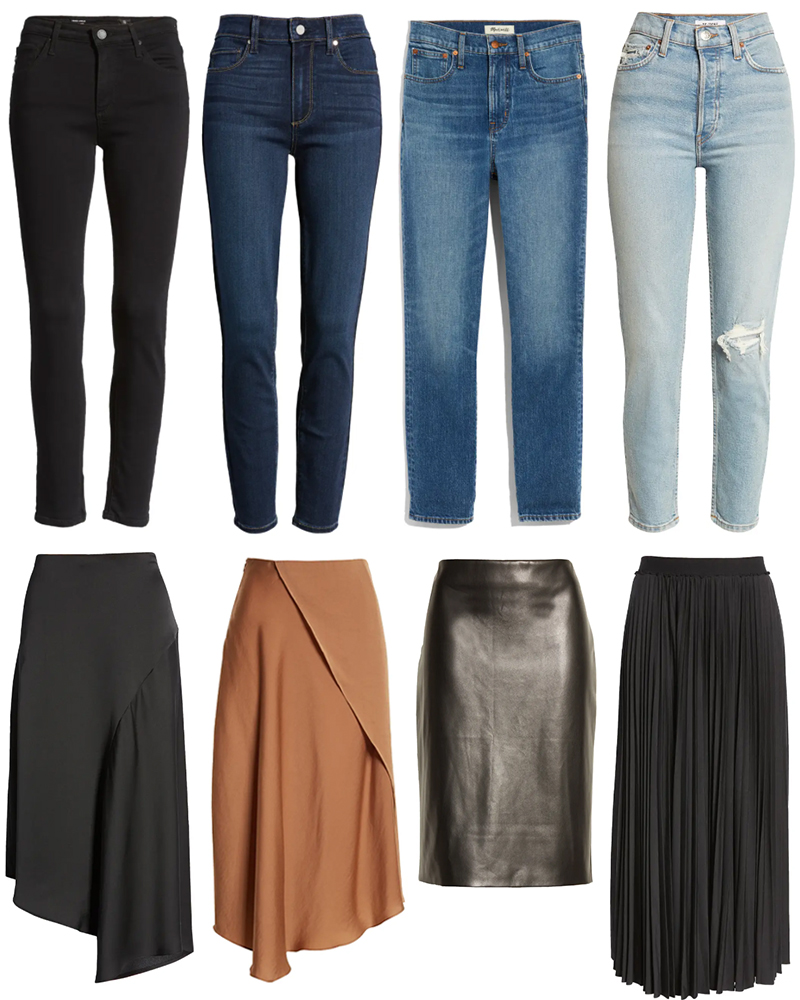 NORDSTROM ANNIVERSARY SALE // BEST OF JEANS AND SKIRTS