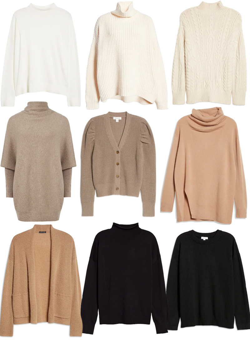 NORDSTROM ANNIVERSARY SALE // BEST OF SWEATERS