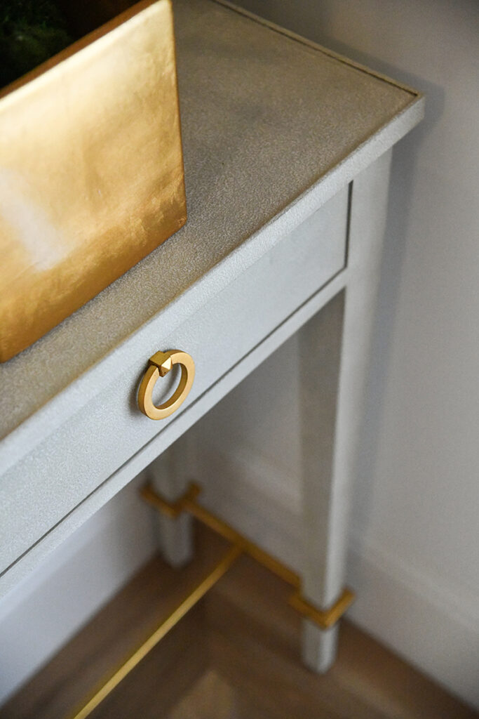 HOUSE UPDATE // ENTRYWAY CONSOLE TABLE
