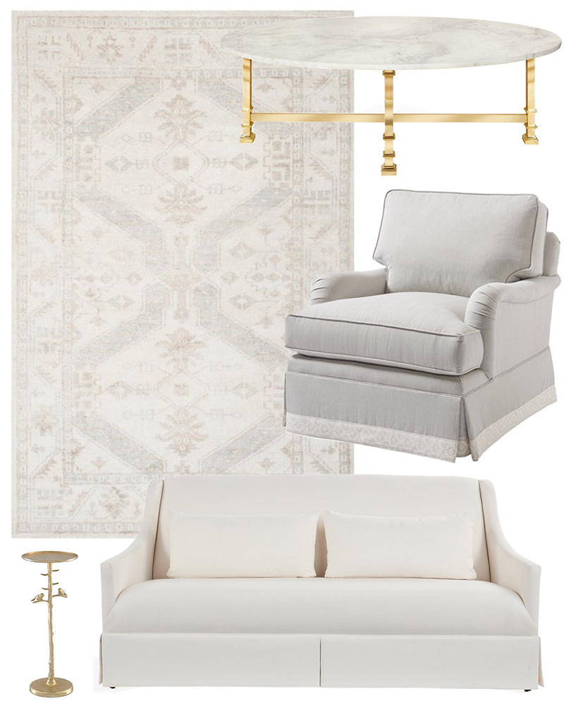SOFT NEUTRAL LIVING ROOM STYLE