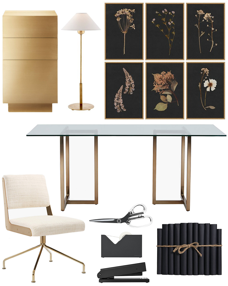 CHIC HOME OFFICE DECOR