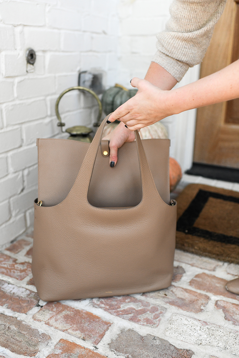 FEWER, BETTER THINGS: THE CUYANA SYSTEM TOTE