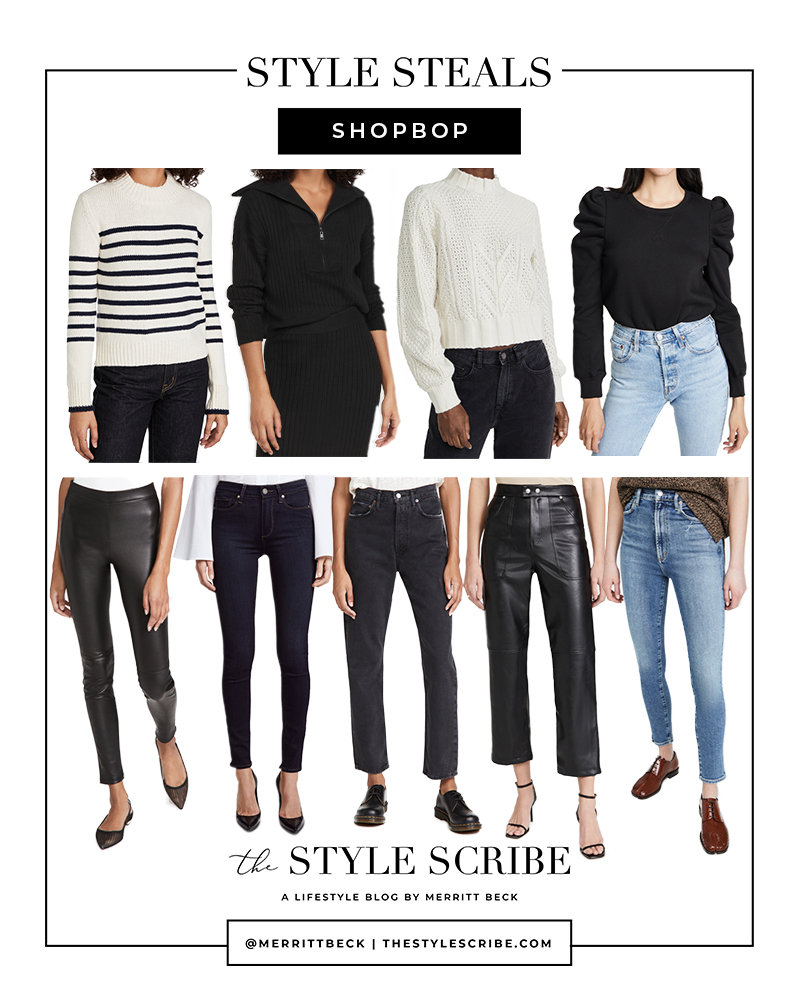 THE STYLE SCRIBE // SHOPBOP SALE STYLE PICKS